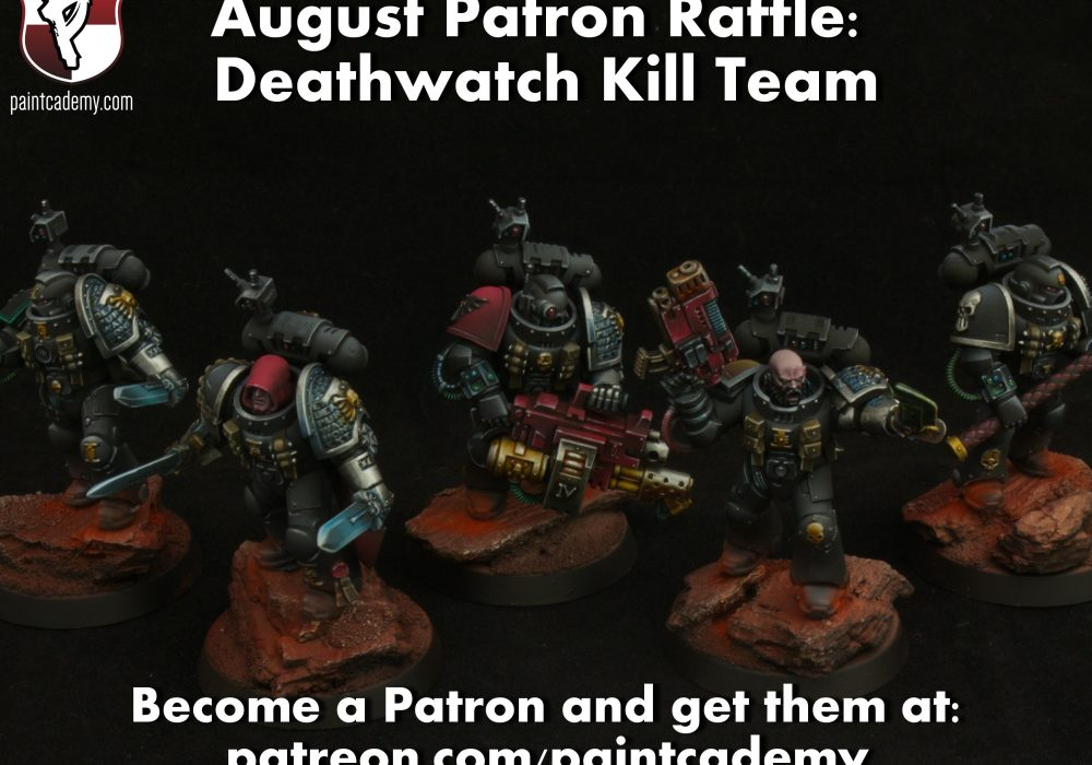 August Raffle at Patreon