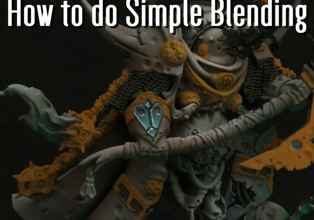 How to do Simple Blending (Video)