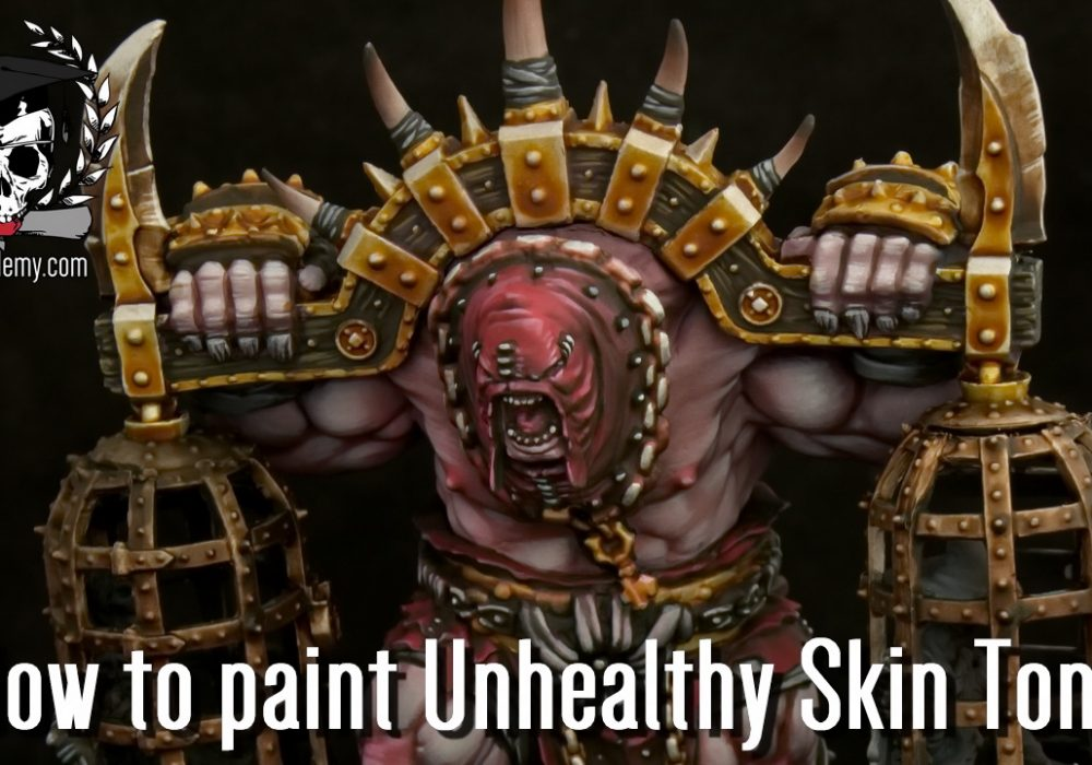 How to Paint Unhealthy Skin Tone (Video)