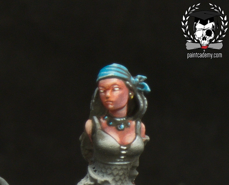 How to paint Female Face (Video)